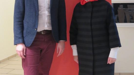 Dennis Rohde und Hiltrud Lotze