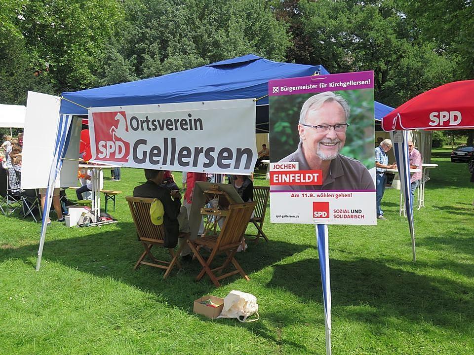 SPD Gellersen - Familienfest in Lüneburg Clamartpark