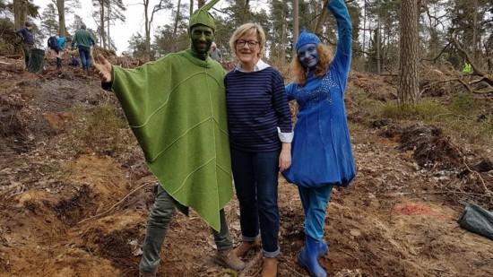 Hiltrud Lotze übernimmt Patenschaft