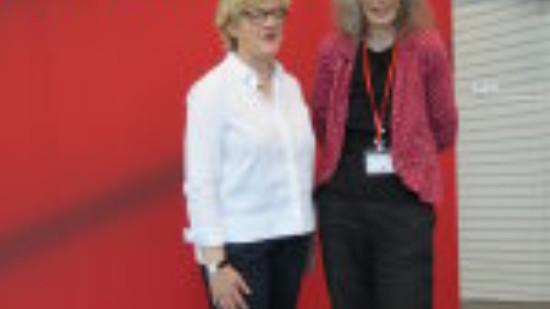 Hiltrud Lotze und Dorothea Steffen