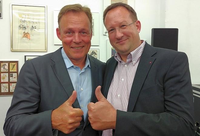 Thomas Oppermann und Jörn Krack