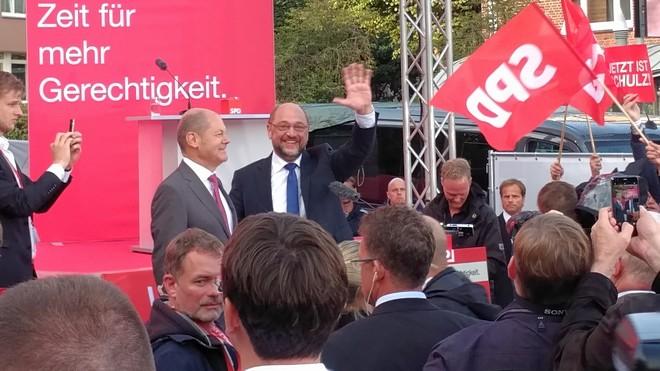 Olaf Scholz und Martin Schulz