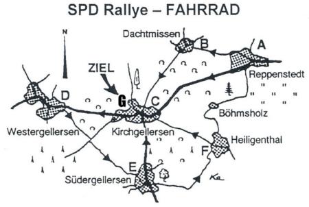 SPD-Fahrrad-Rallye 2018