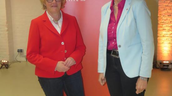 Hiltrud Lotze und Susanne Mittag
