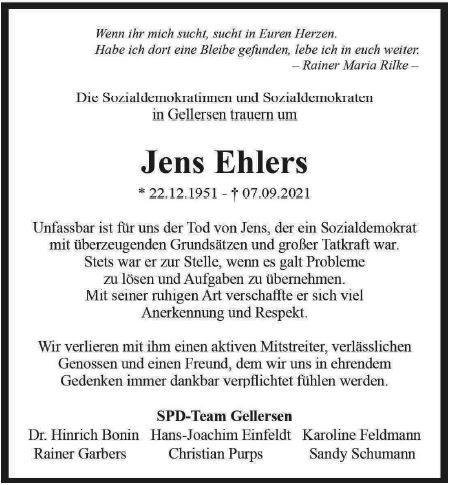 Todesaneige Ehlers