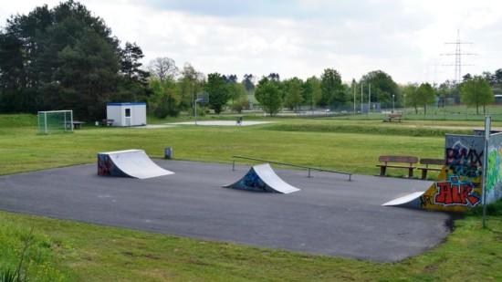 aktuelle Skaterbahn