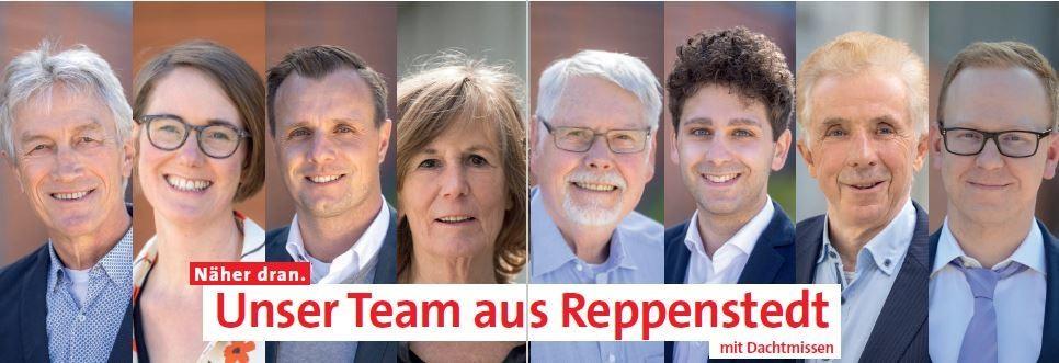Flyer Reppenstedt Kandidaten