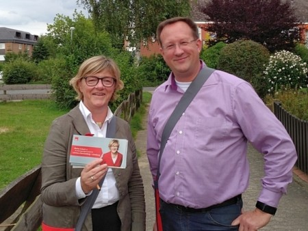 Hiltrud Lotze und Jörn Krack